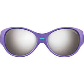 Julbo Puzzle Spectron 4 Sunglasses Kids 3-5Y Purple/Turquoise-Gray Flash Silver